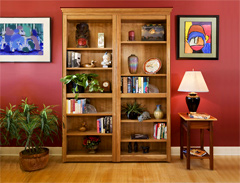 Folding Bookcase Doors