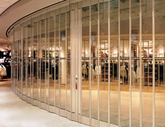 Exterior Accordion Folding Doors, Security Doors, Retail Security Doors Part 56