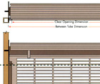 Rolling Grille Application Drawing