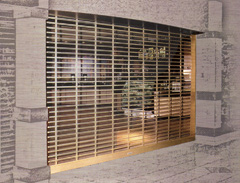 Rolling security grilles and closures by First Choice