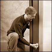 Stack The Door Tight Against The Jamb