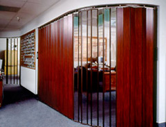 Interior Folding Accordion Door