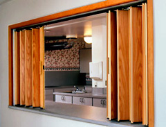 & Woodfold accordion doors for your home or business.